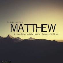 Matthew Series Album Cover, Mountains